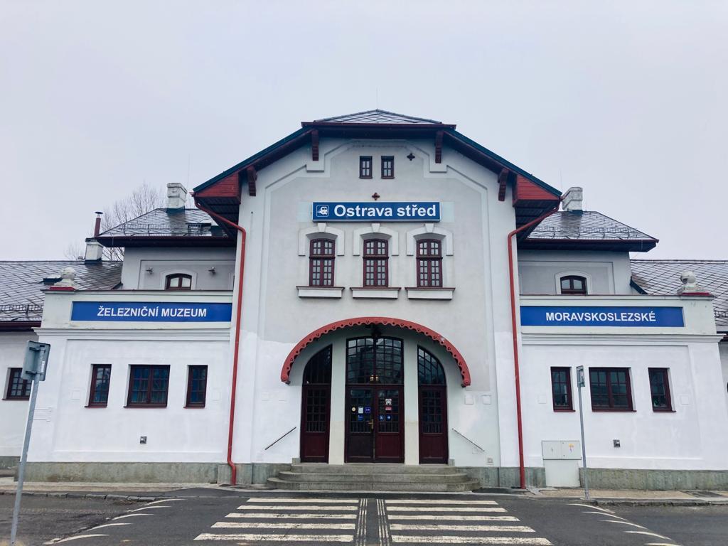 Železniční nádraží Ostrava Střed